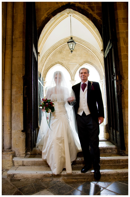 Wedding Photographer Chichester Cathedral