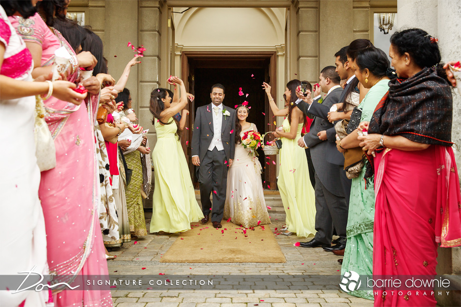 indian-wedding-confetti-leaving-cliveden-house-hotel