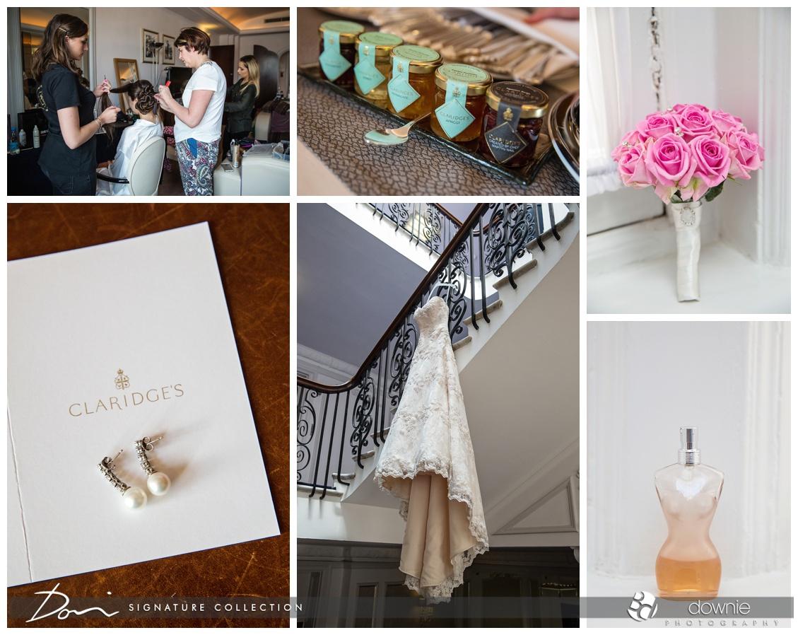 Claridges wedding photography london