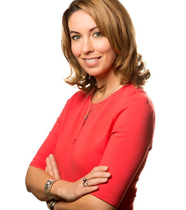 Headshot photography London for Channel 5 Newsreaders