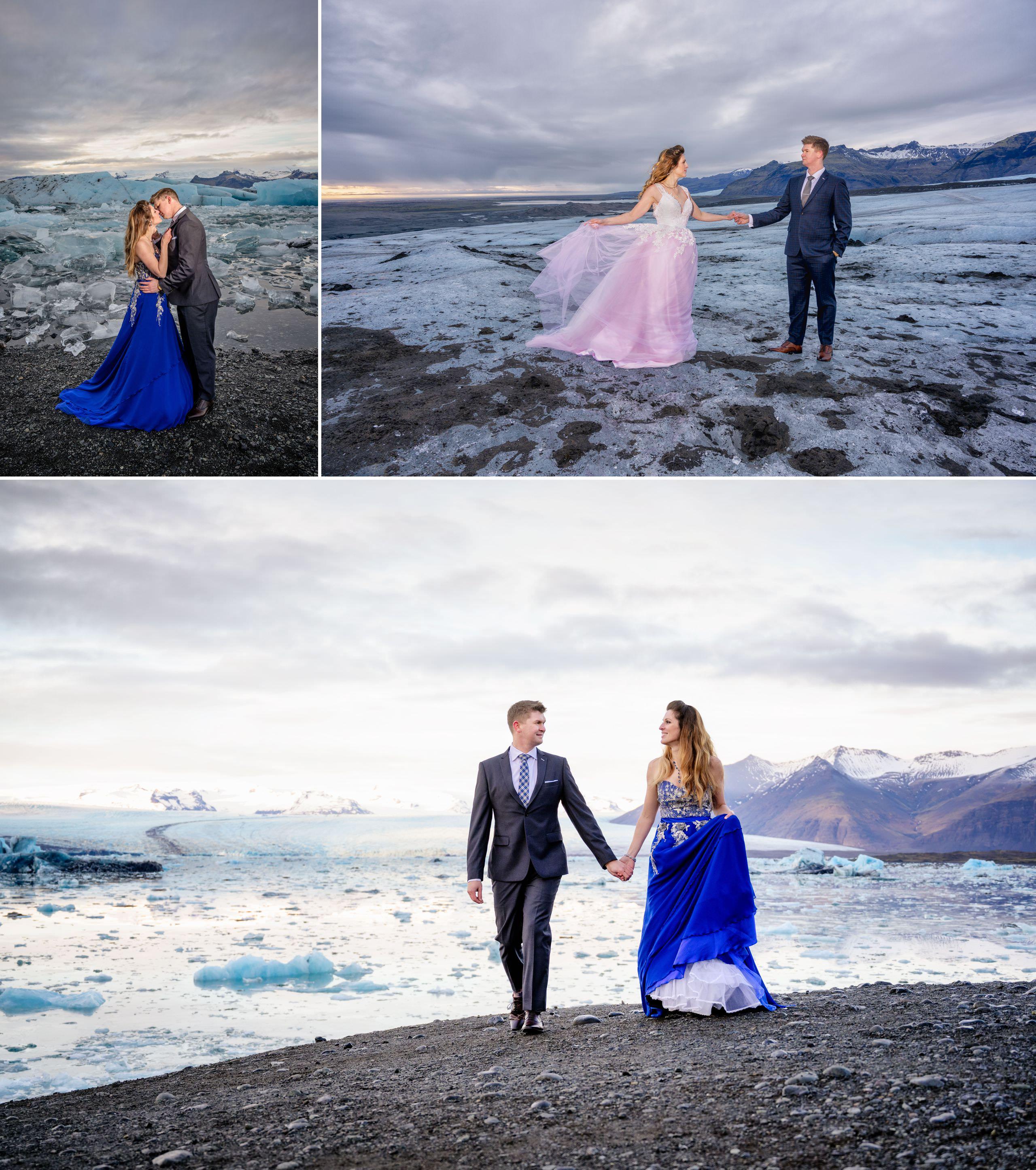 Iceland pre wedding photoshoot